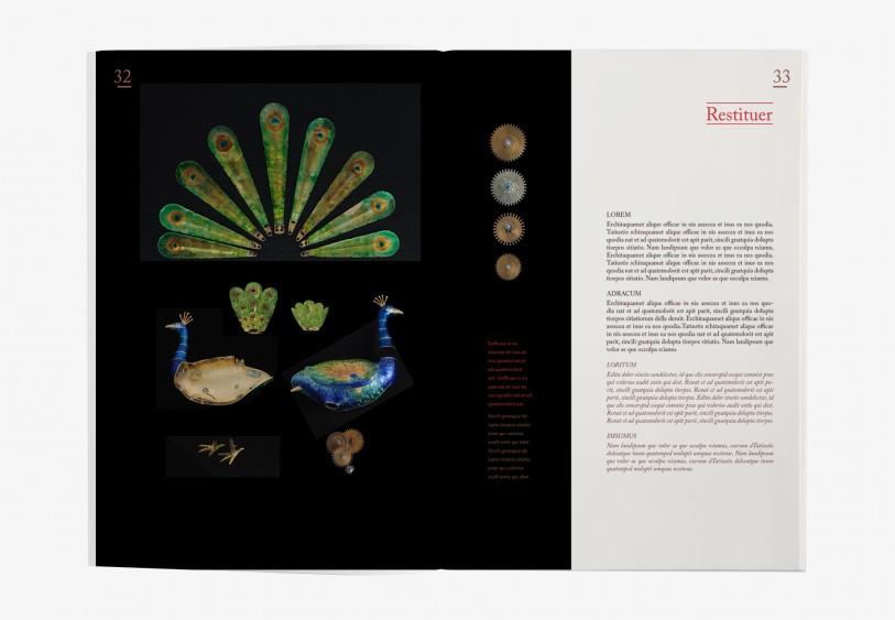 création Édition Parmigiani atelier de restauration graphisme mise en page luxe haute horlogerie Genève suisse Joaillerie